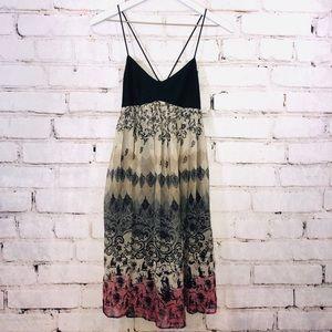 Laundry shelli segal ombré silk dress 2